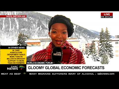 World Economic Forum  | Gloomy global economic forecasts