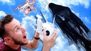 HALLOWEEN GHOST PRANK USING DRONE!!!