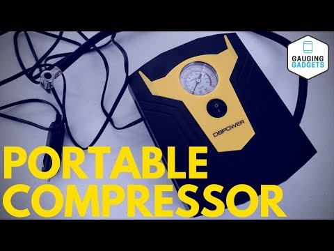 DBPOWER Portable Air Compressor Review - 12V DC Tire Inflator