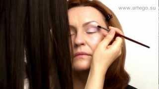 Лифтинг- макияж. Брови, глаза. Ольга Садикова
