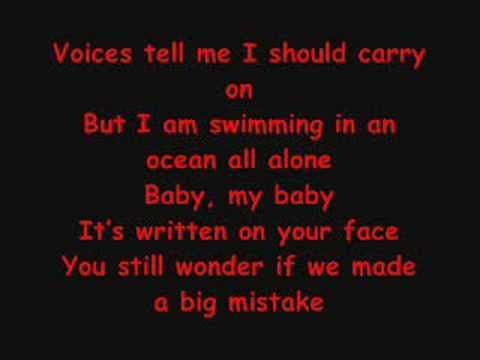 Incomplete (lyrics)