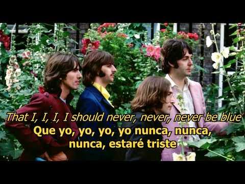 Ask me why - The Beatles (LYRICS/LETRA) [Original]