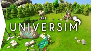 The Universim ► God Game - Black & White plus Spore Gameplay! - Steam Release! - [Gamer Encounters]