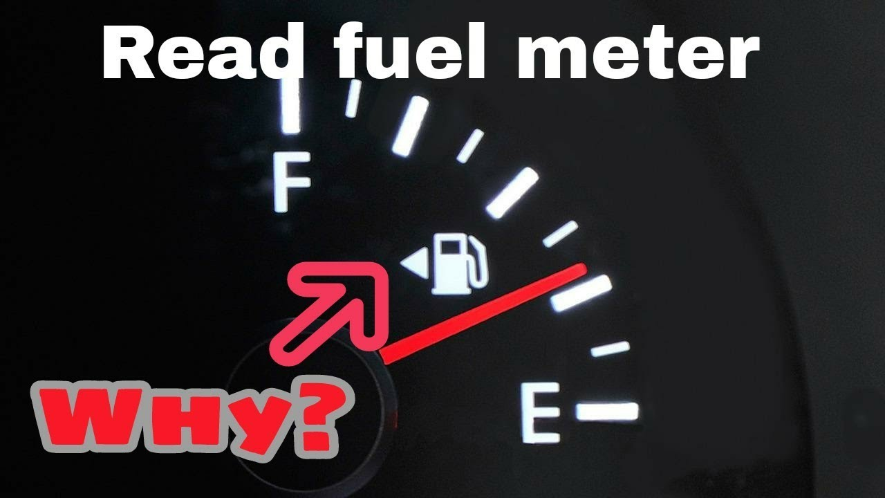 How Do You Read A Fuel Meter In Car For New Learner S Only Learn To Turn