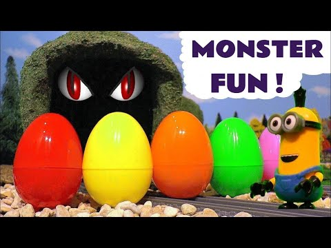 Thumbnail: Learn Colors with Minions Surprise Eggs Johny Johny Yes Papa Nursery Rhymes Thomas and Friends TT4U
