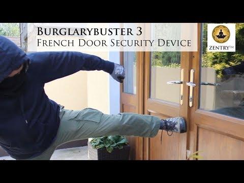 Burglarybuster 3 French Door Lock for opening-inwards French doors
