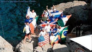 Симеиз 10 Августа 2019 Крым Клифф Дайвинг Freerate Cliff Diving World Cup 2019