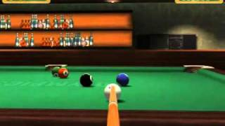 3D online pool game (Arcadetribe)