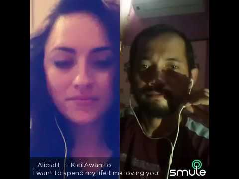 I want to spend my life time loving you cover by aliciaH + KicilAwanito