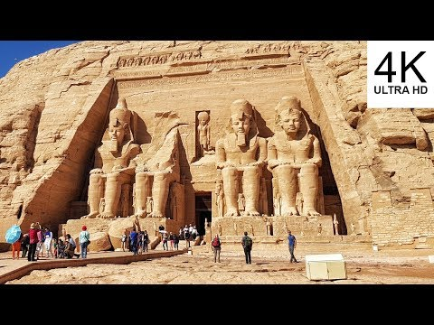 4K Abu Simbel temples - Egypt