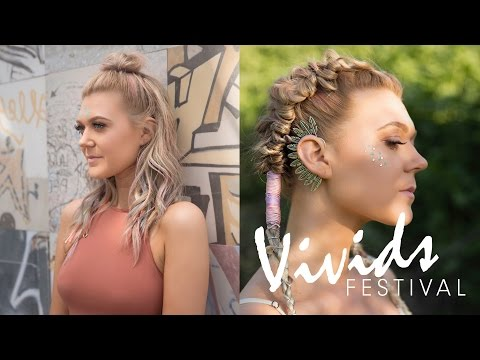 OPALINE DREAM Opal Hair Color & Styling How-to | VIVIDS FESTIVAL