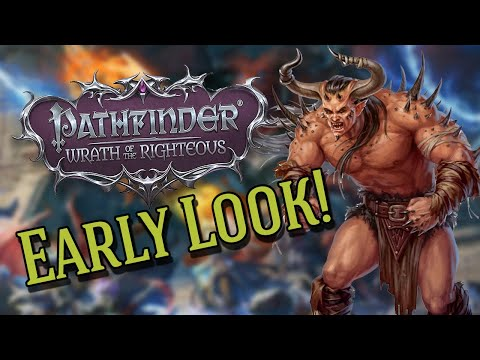 Pathfinder: Wrath of The Righteous Early Look