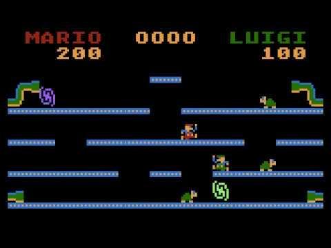 Mini Bros - Atari game for NOMAM BASIC 10Liners Contest 2019