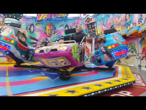 Gronau Kirmes Break Dance 2016