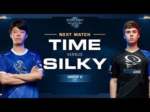 TIME vs Silky TvZ - Ro16 Group D - WCS Winter Americas