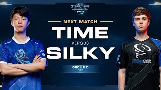 TIME vs Silky TvZ - Ro16 Group D - WCS Winter Americas