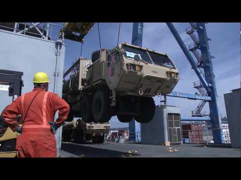 2-2SBCT Sea Load Operations B-roll
