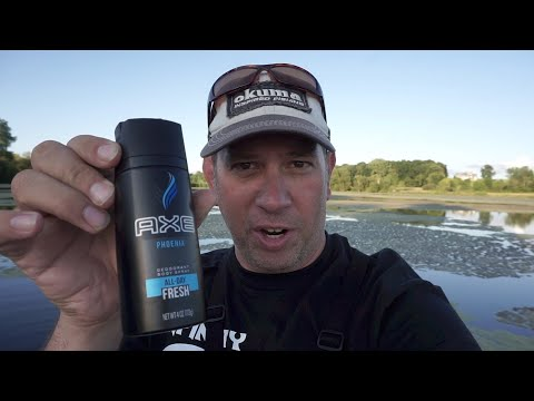 Axe Body Spray - The Fish Scent Secret Weapon!!