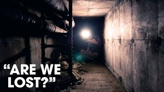 Exploring a HUGE Tunnel System at an Abandoned Asylum