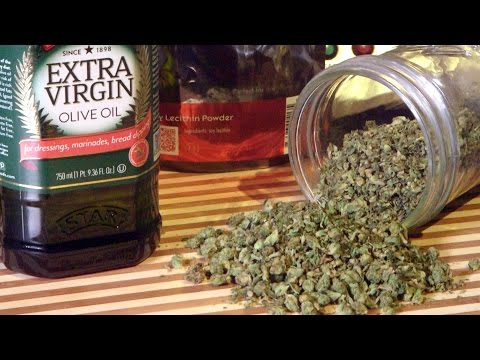 How To Make Cannabis Infused Olive Oil (Marijuana Cooking Oil): Cannabasics #38
