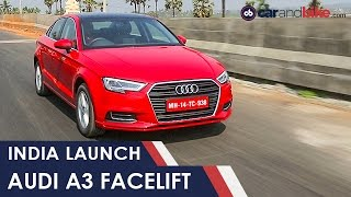 2017 Audi A3 Facelift: India Launch And Prices - NDTV CarAndBike
