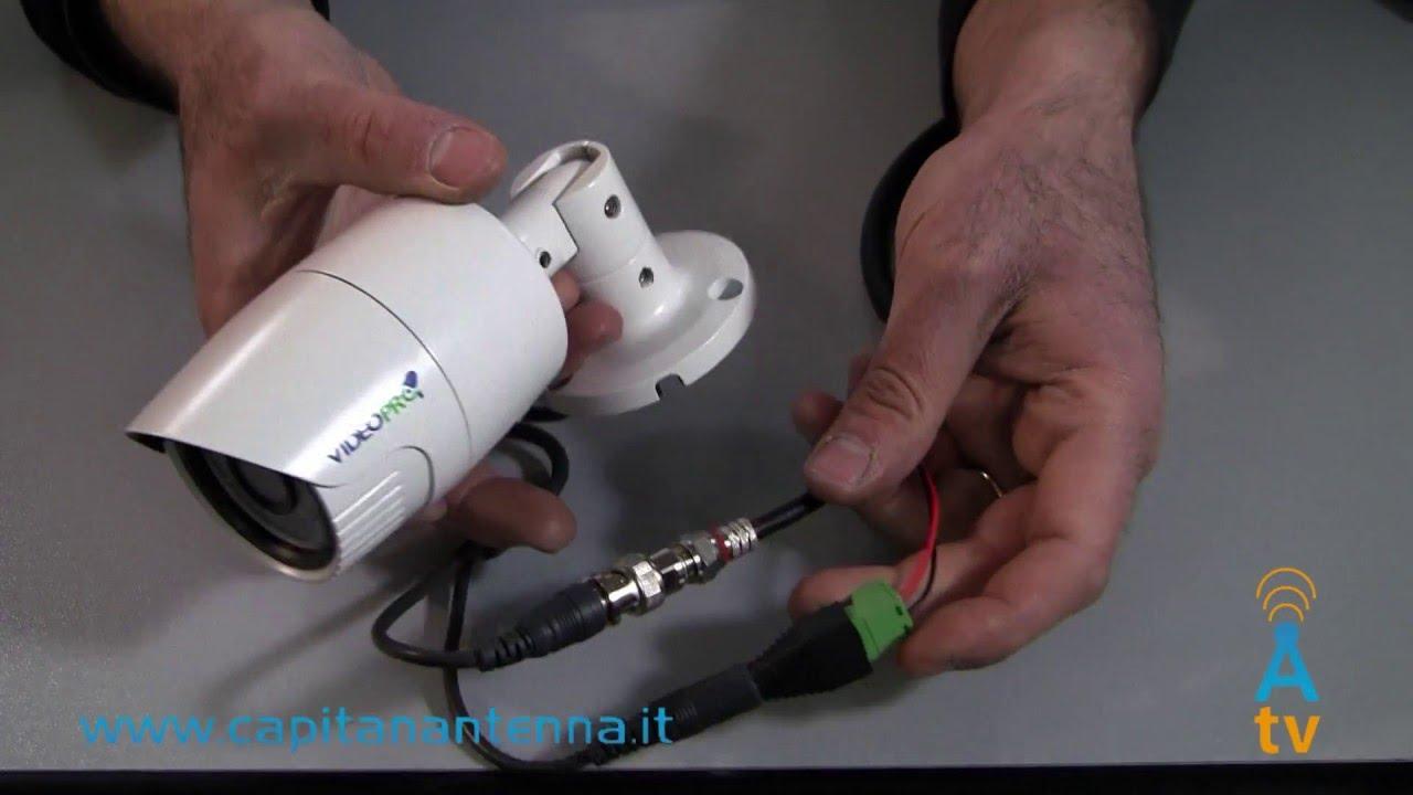 Schema Cablaggio Cavo Lan : Come montare un connettore bnc su un cavo coassiale senza pinza