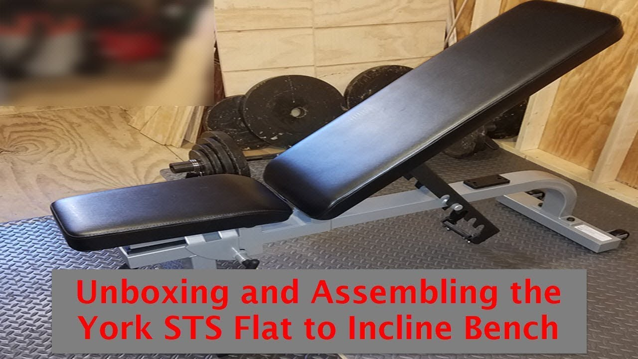 Unboxing And Assembling The York Sts Flat To Incline Bench