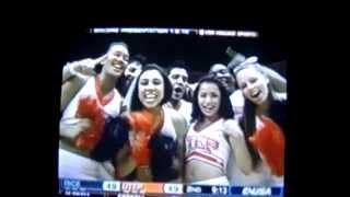UTEP Cheerleaders on Conference USA TV