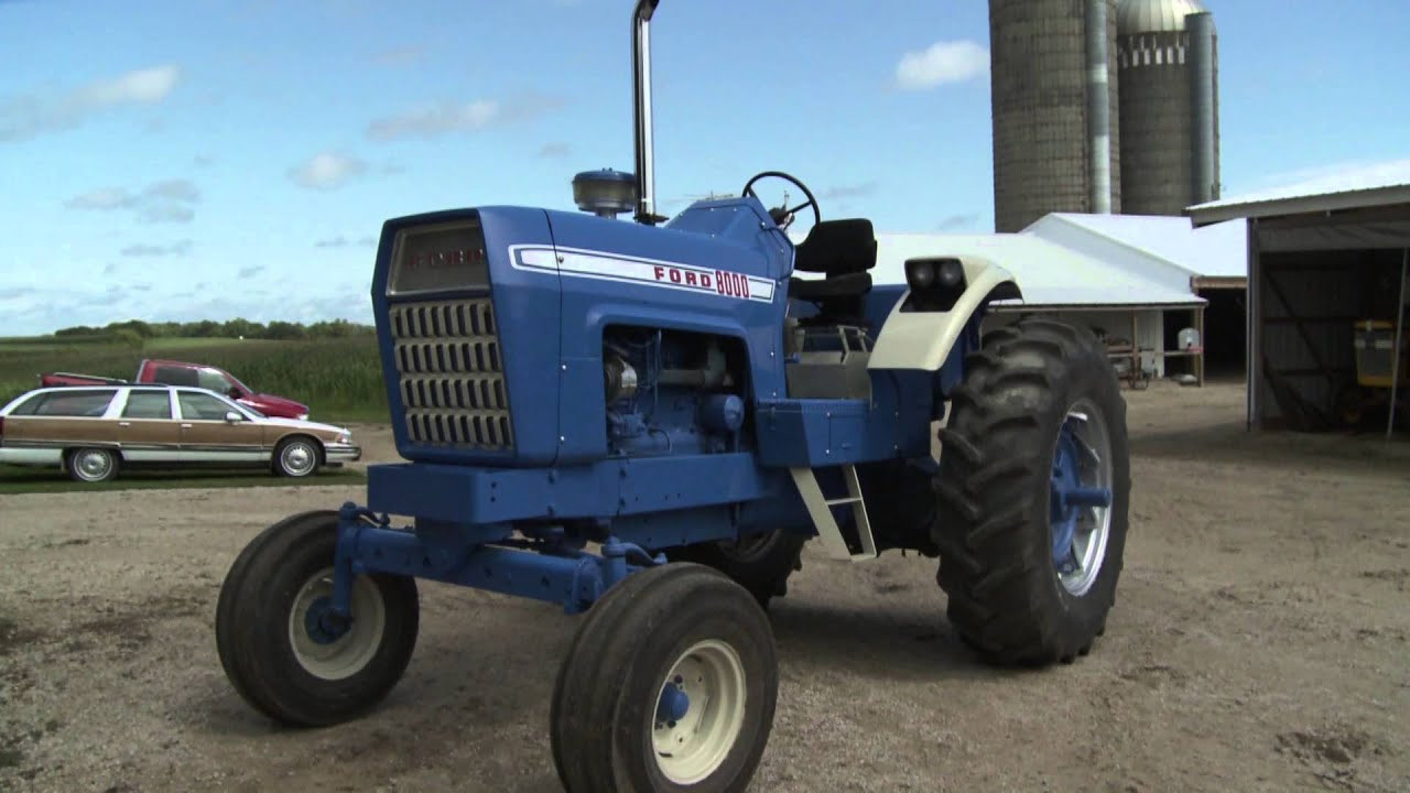 1972 Ford 9000 Tractor : Ish ford youtube