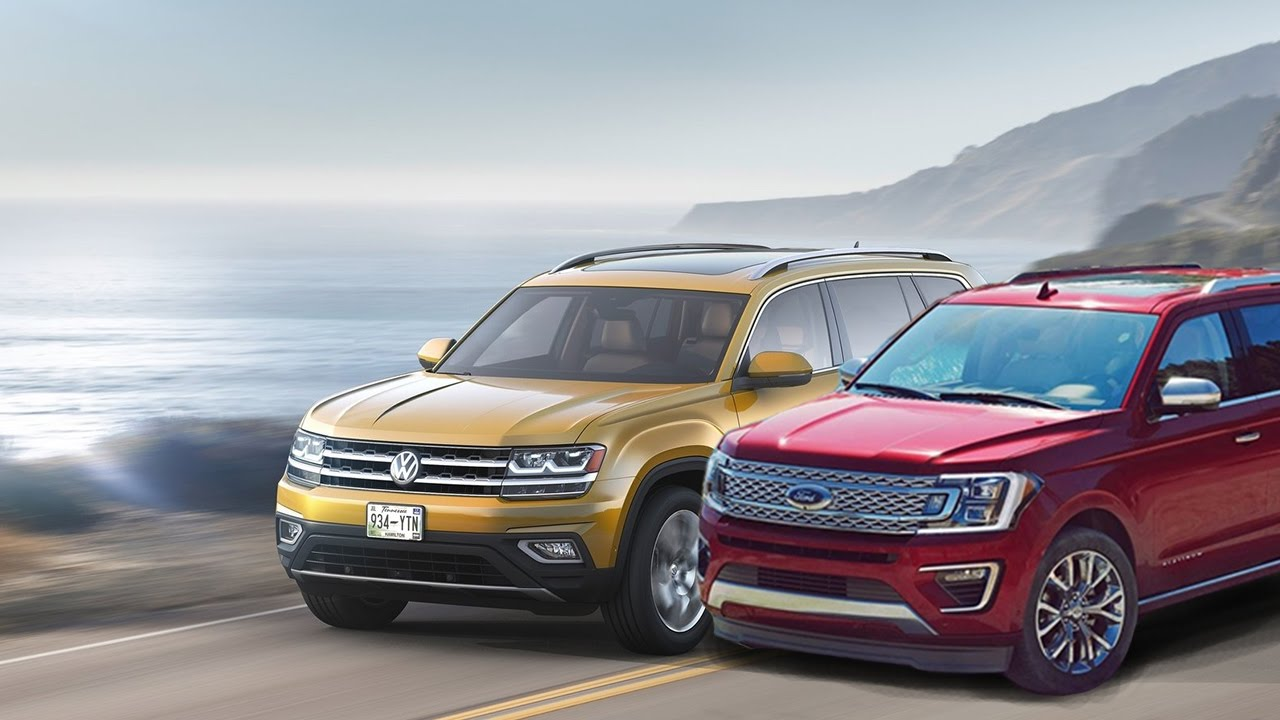 2018 Volkswagen Atlas vs 2018 Ford Expedition - YouTube