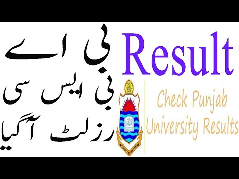 How We Can Get B A, BSc Punjab university Supplementary Result 2019