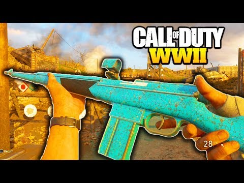 """*NEW* ITRA BURST is AMAZING in CALL OF DUTY WW2! NEW DLC WEAPONS EPIC """"ITRA BURST GAMEPLAY""""!"""