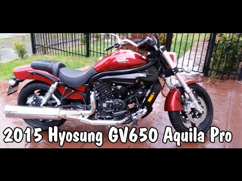 Hyosung GV650 Aquila Pro Review