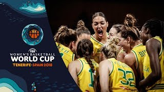 Australia v Turkey - Highlights - FIBA Women's Basketball World Cup 2018