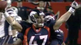 Patriots vs Broncos 2005 Divisional Playoffs Highlights
