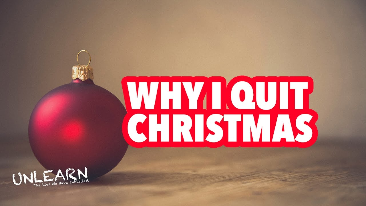 Should christians celebrate christmas why i quit for Why christmas is the best holiday