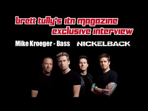 InTheNow Magazine's Brett Tully's Interview with Mike Kroeger from Nickelback 2-12-14