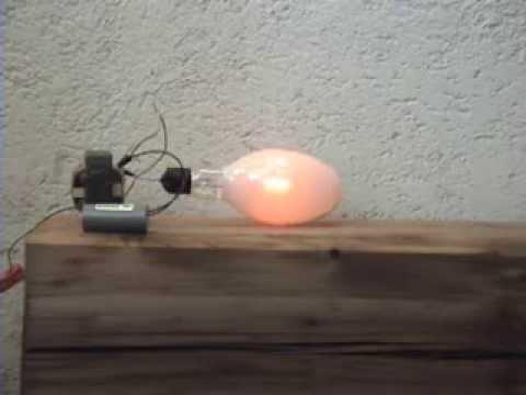 Metal Halide Lampen : Philips w coated metal halide bulb test youtube