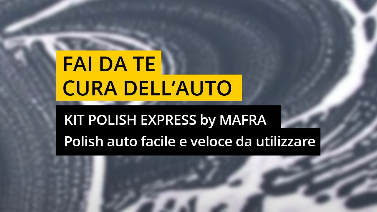 kit polish express polish auto facile e veloce da utilizzare youtube. Black Bedroom Furniture Sets. Home Design Ideas