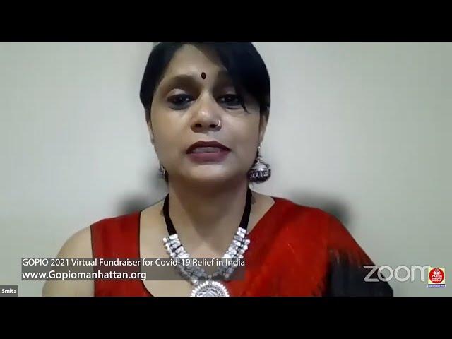 GOPIO - Manhattan Presents Virtual Musical Fundraiser - India COVID Relief - New York