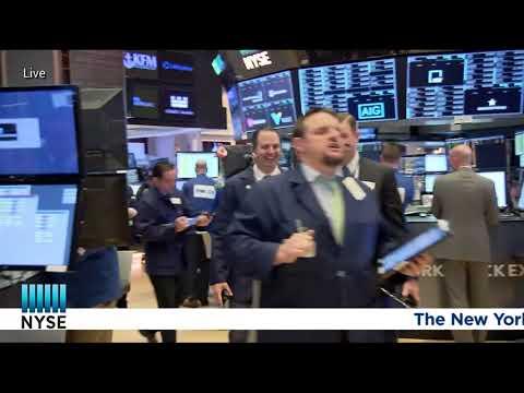 Legendary venture capitalist John Doerr rings the NYSE Opening Bell