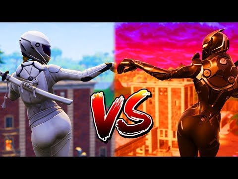 WHO GOT THE THICCEST BUTT? OBLIVION SKIN VS NEW WHITEOUT SKIN (DANCE BATTLE) FORTNITE