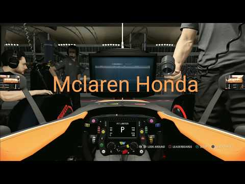 How much realistic are F1 games? Comparing the Mclarens of 2017 & 2018! Enertia Gaming |