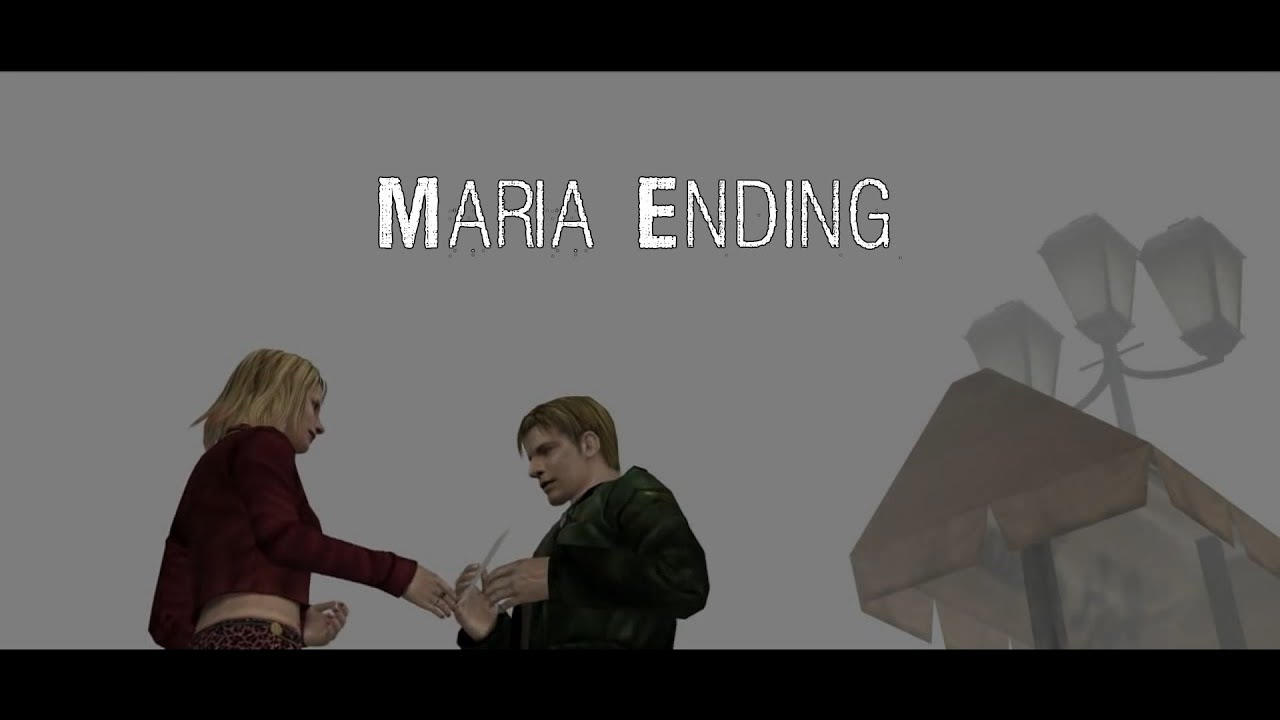 Silent Hill 2 Maria Ending Youtube