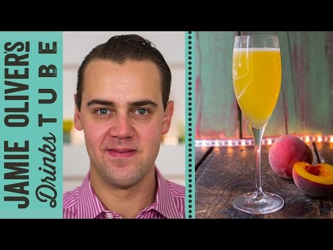 Classic Peach Bellini Cocktail | Simone Caporale