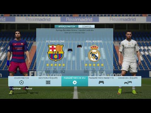 Demo FIFA 16 Real Madrid FC Barcelone
