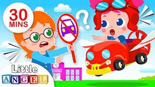 Watch Out! Mary Has a Flying Car | Jill Goes to Dentist, Kids Songs & Nursery Rhymes by Little Angel