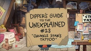 02 - Stan's Tattoo - Gravity Falls - Dipper's Guide to the Unexplained