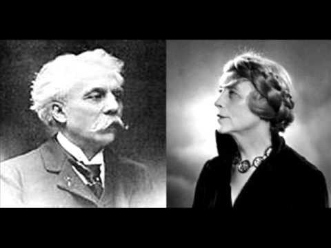 Yvonne Lefébure interprète Fauré - Nocturnes Nos 6 et 13