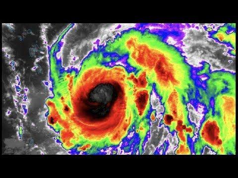 """🌀 🌀 По следам """"Ирмы"""" и """"Харви"""" идет мощнейший за век  ураган """"Мария"""""""